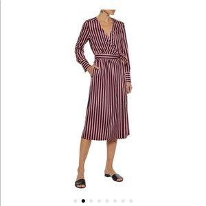 Iris & Ink wrap dress, size 0
